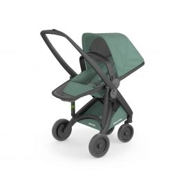 Carucior, Greentom, Reversible, 100% Ecologic, Black Sage