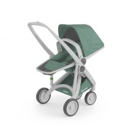 Carucior, Greentom, Reversible, 100% Ecologic, Grey Sage