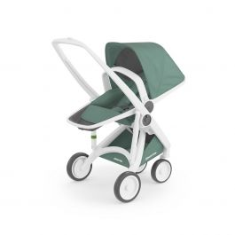Carucior, Greentom, Reversible, 100% Ecologic, White Sage