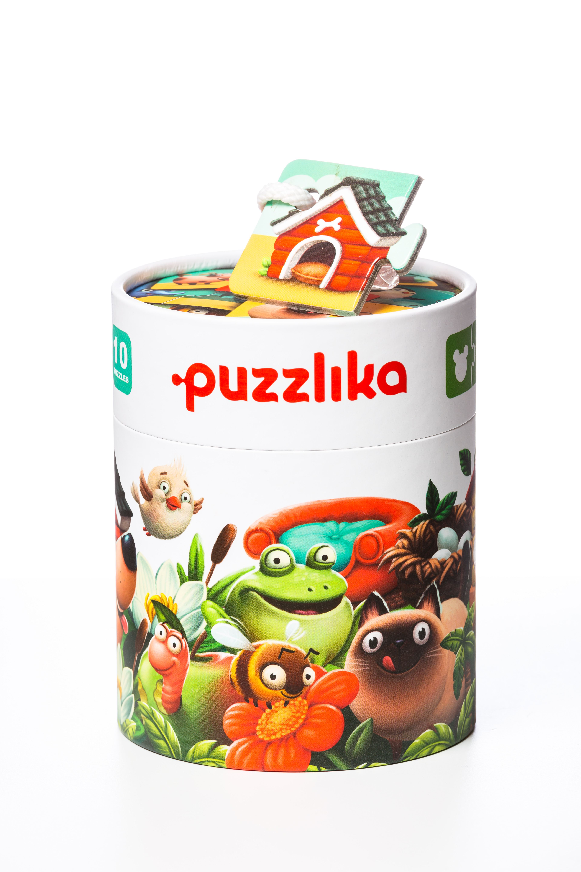 Puzzle, Cubika, Casuta Animalelor