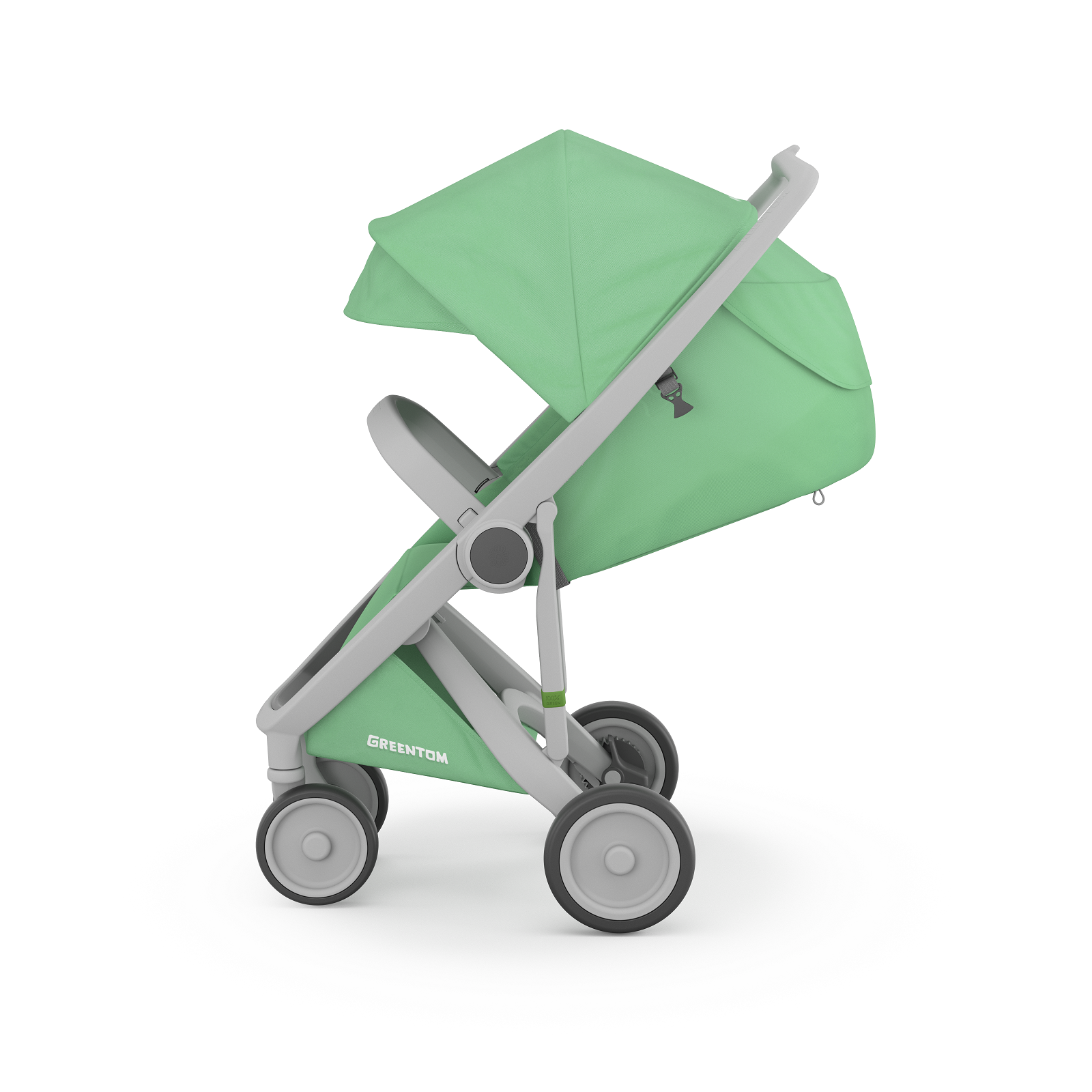 Carucior Greentom Classic Upp 100% Ecologic Grey 3