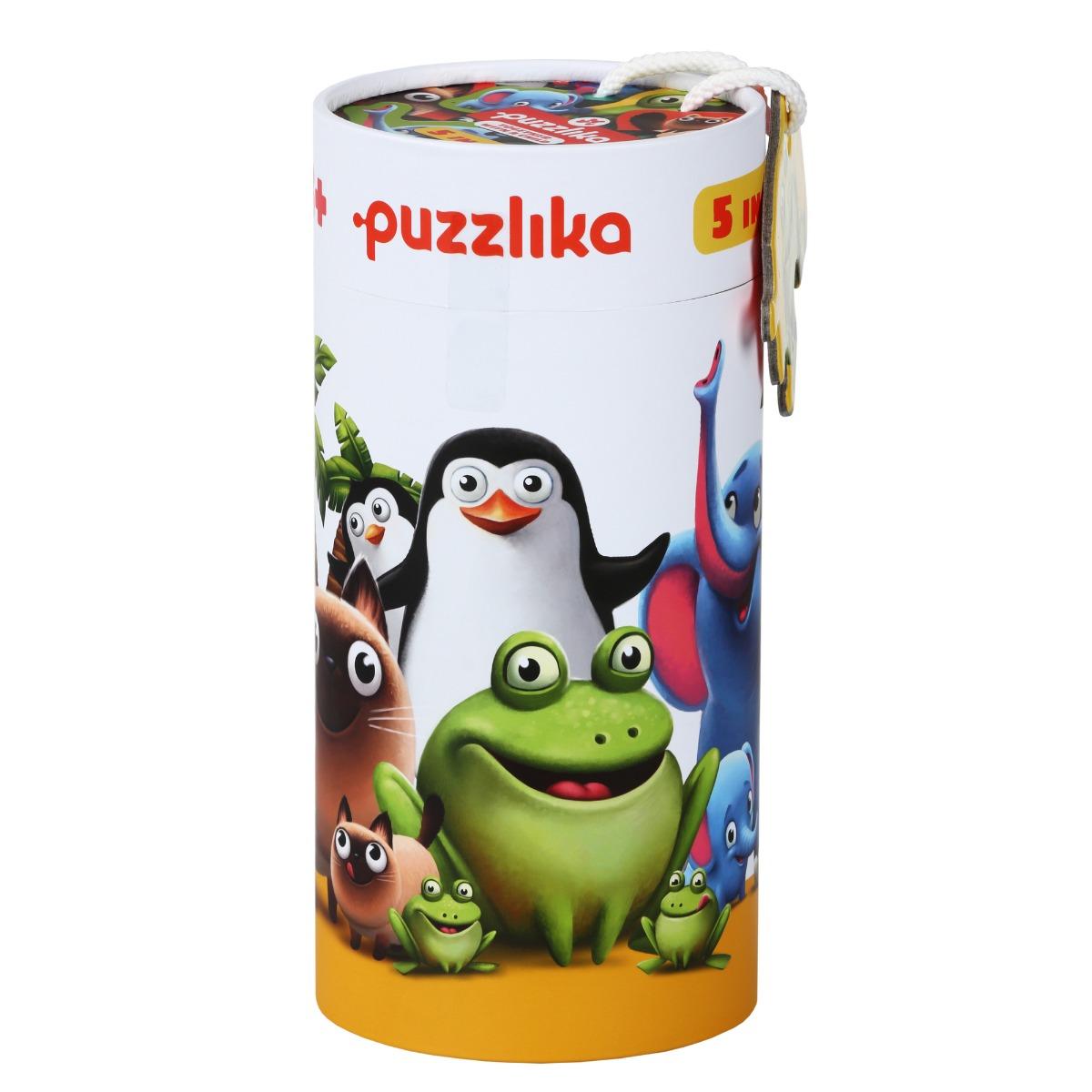 Puzzle 5 in 1, Cubika, Familia Potrivita