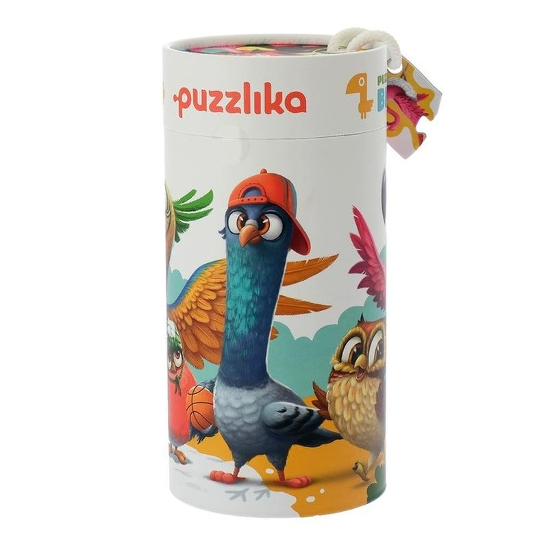 "Puzzle, 5 in 1 Cubika, ""Birds"""