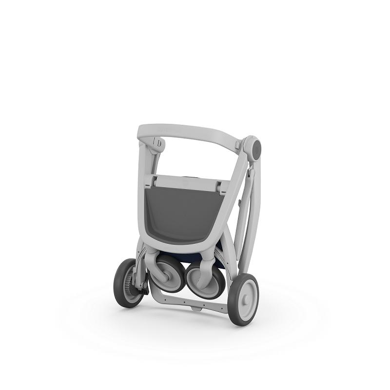 Carucior Greentom Reversible 100% Ecologic Grey 2
