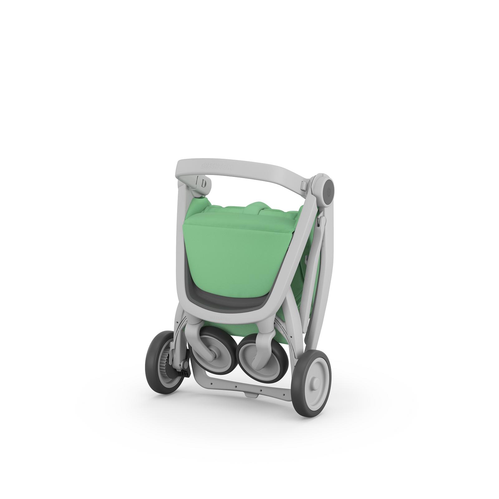 Carucior Greentom Classic Upp 100% Ecologic Grey 2