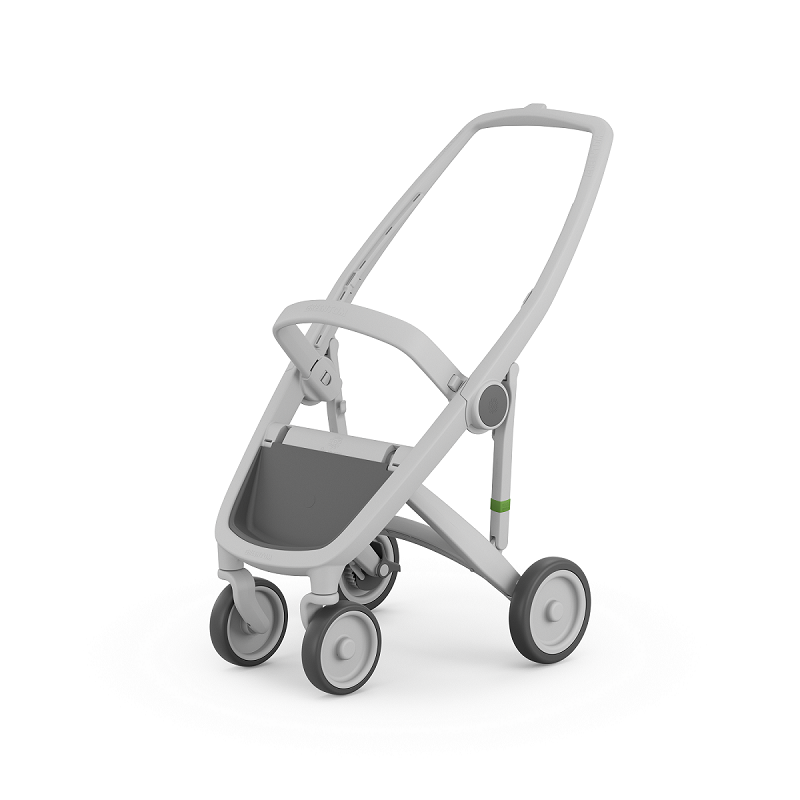 Carucior Greentom Reversible 100% Ecologic Grey 3