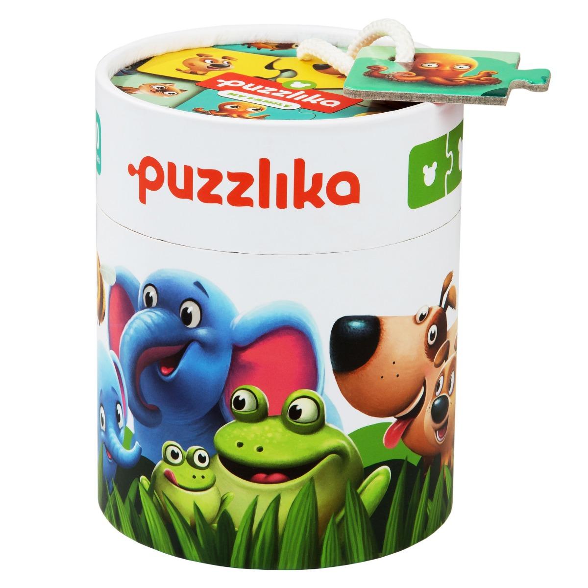 """Puzzle Cubika, """"Familia potrivita"""""""